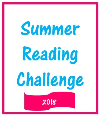 image that says Summer Reading Challenge 2018